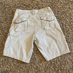 Anchor Blue Cargo Shorts